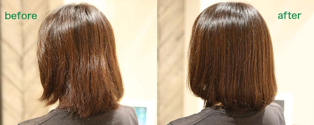 calm apartment SPA×HAIR BEFORE&AFTER その3