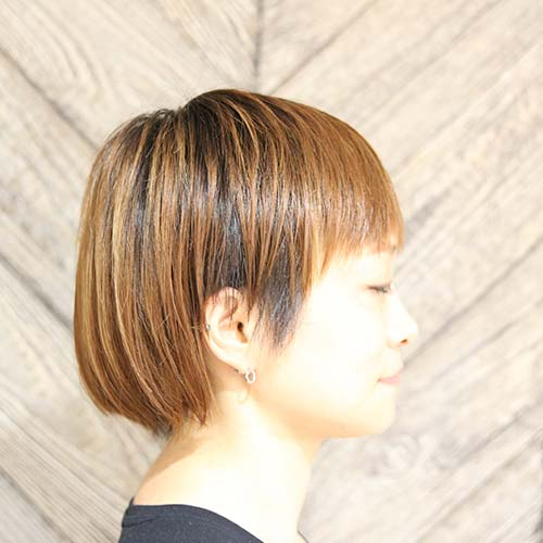 calm apartment SPA×HAIR HAIR STYLE ボブスタイルその2